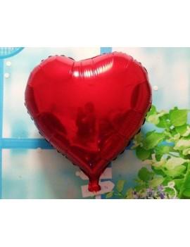 5 Pcs 36'' Red Heart Shaped Foil Mylar Balloon