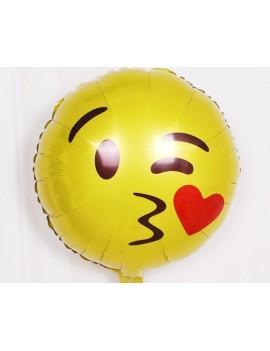 12 Pcs 19 Inches Creative Emoji Party Aluminum Foil Balloons