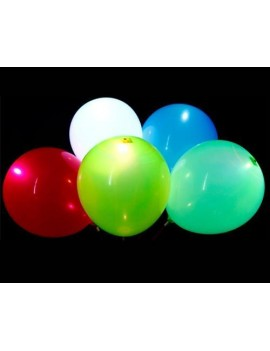 5 Pcs Mixed Colour LED Balloons