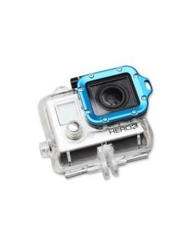 GoPro Aluminum LANYARD RING Mount for Hero 3 Black Edition - Blue