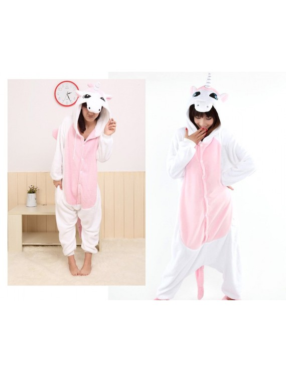 One Piece Pink Unicorn Pyjama - Medium