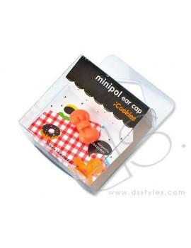 Headphone Jack Plug - Ribbon Orange