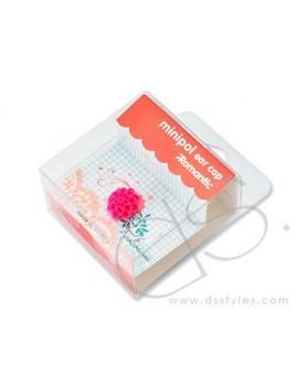 Headphone Jack Plug - Flower Pink