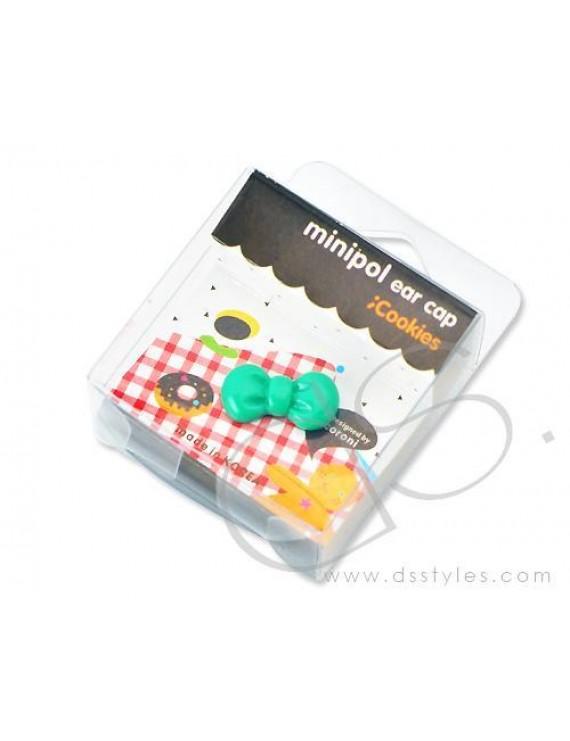Headphone Jack Plug - Ribbon Green