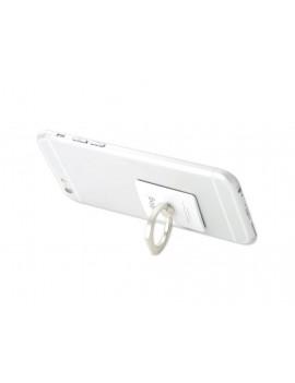 iRing Universal Bunker Ring Grip Holder Cell Phone Stand - White