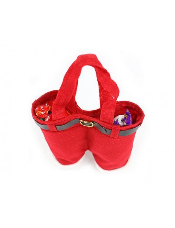 Santa Pants Style Christmas Gift Candy Bags
